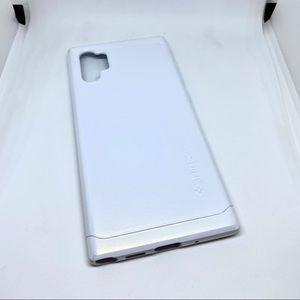 Galaxy Note 10+ Case Pearl White Hard Shell EUC
